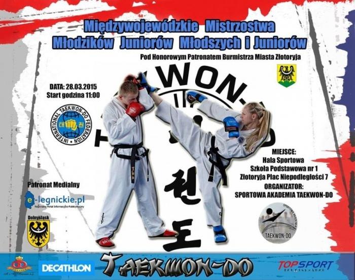 Międzywojewódzkie Zawody Taekwon-do w Złotoryi