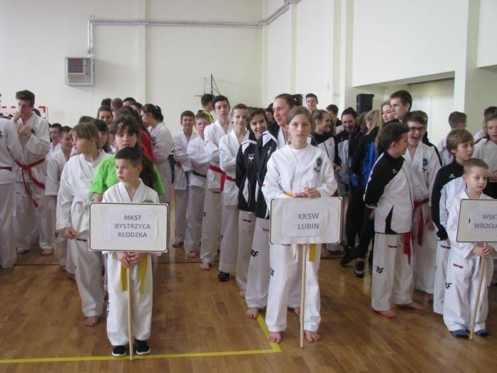 Medale Międzywojewódzkich Mistrzostw Taekwon-do w Złotoryi